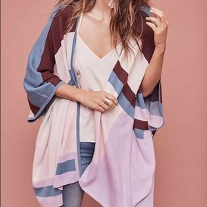Anthropologie Tracey Reese Geometric Poncho